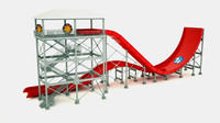 waterslide slide 3d max
