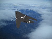 3d model f-117 nighthawk