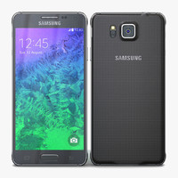 samsung galaxy alpha charcoal 3d max