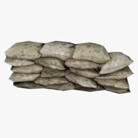 3d model wall bags