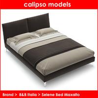 selene bed maxalto b italia 3d max