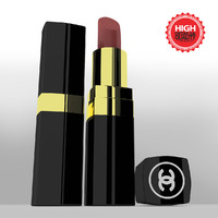 maya lipstick modeled