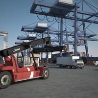 port 3d max