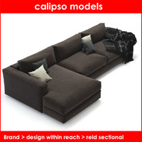 design reach reid sectional 3d model