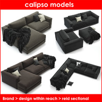 design reid sectional 3d max