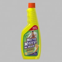 mr muscle cleaner 3d lwo