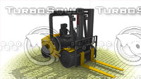 ready forklift 3d model