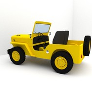 3ds willys jeep