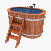 3ds baptistery wood