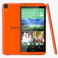 HTC Desire 820 Monarch Orange