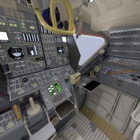 max lunar module interior