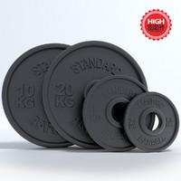 3d model weight