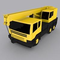 3ds mobile crane 1035