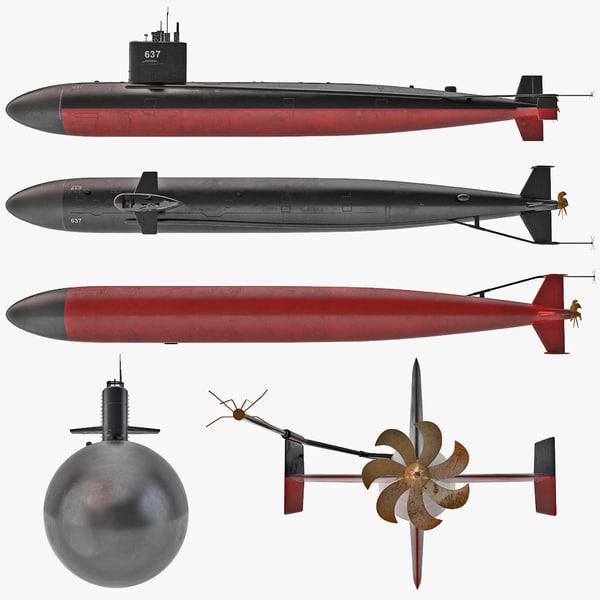 USS Sturgeon Submarine sub nuclear powered attack SSN-637 ssn 637 navy naval aquatic vray ship transport transportation US united states