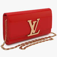 louis vuitton bag 3d max