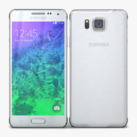 samsung galaxy alpha dazzling 3d model