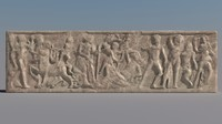Greek Bas-relief 4