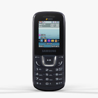maya low-poly samsung e1282 black