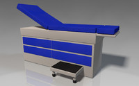 exam table 3d 3ds