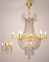 3d crystal chandelier wall sconce