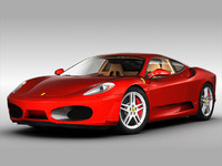 - ferrari f430 car 3d 3ds
