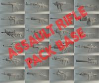 assault rifle pack c4d