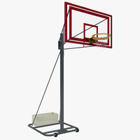 basket ball hoop 3d ma