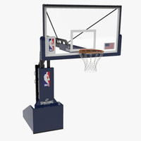 3d basket ball hoop model