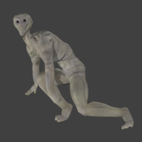 rig alien creature 3d x