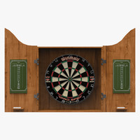 3ds max dart dartboard board