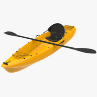 3ds max kayak canoe