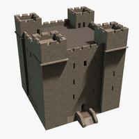 castle interior 3d x