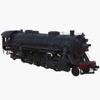 3d steam train