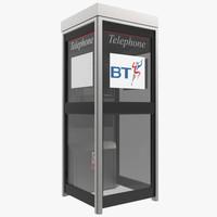 3d model phone box