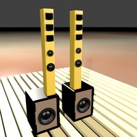 3d line array speaker