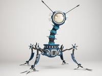 robot 4af299 3d max