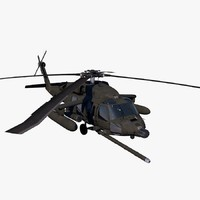 3ds max uh-60 helicopter kfor blackhawk