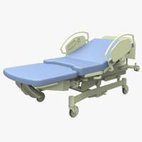 3dsmax birthing bed