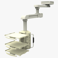 3d electric tray boom model