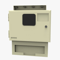 3d glove dispenser model