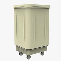 3d model hospital bin