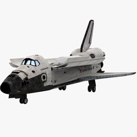 3d x space shuttle endeavour