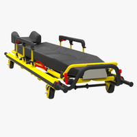 3d model stryker stretcher