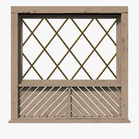 3d model of 1 window