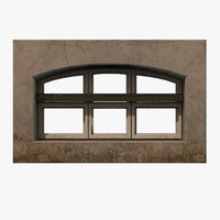 3d model of window