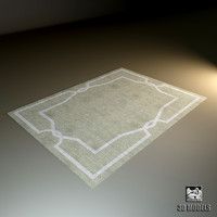 modern carpet liveroom 3d model