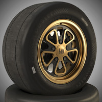 wheel fifteen52 magnus walker 3d 3ds