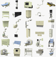 3d model equipment hospital