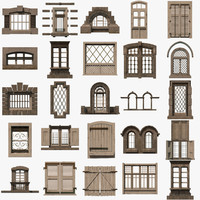 3d pack windows model