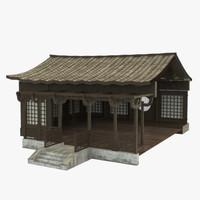 3d modular dojo model